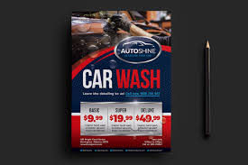 Car Wash Flyer Template Free Car Wash Templates In PSD Ai Vector BrandPacks 19