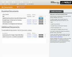 quicken willmaker plus document management software % quicken willmaker plus 2017 screenshot