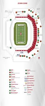 Levis Stadium Seating Chart Concessions Levis Stadium