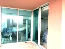 install a patio door how to install sliding glass doors cost to replace patio door glass