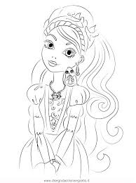 Ever After High Apple White Coloring Pages 123 Coloring