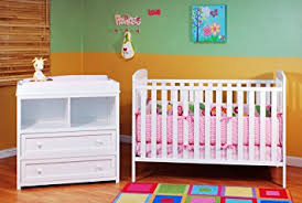 Amazon Athena Leila 2 Piece Nursery Set White Nursery