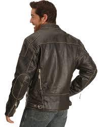 men s interstate leather motorcycle jacket cairoamani com