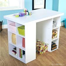 art table with storage view larger childrens art desk with storage uk