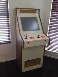 gorgeous home made retro modern arcade cabinet