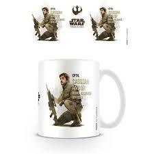 the office star mug. Star Wars Rogue One Cassian Profile - Mug The Office Star Mug