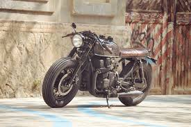 honda cb750 nighthawk cafe racer by overbold motor co bikebound