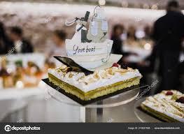 Delicious Real Wedding Cake Stock Photo Joaquincorbalan 210637958