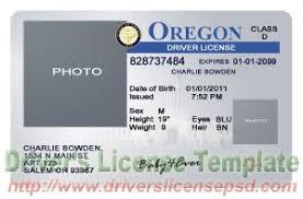 Drivers Fake Or Psd License - Oregon