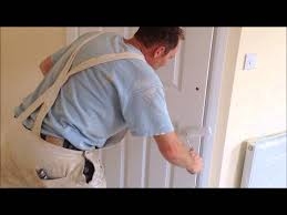 How To how to paint a door with a roller images : How to paint a new door in a finish coat of paint with a roller ...