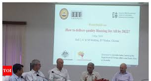 iit madras collaborates with university of technology sydney for manufacturing solutions to indian houses chennai news times of india
