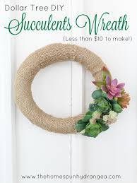 succulents wreath craft 1