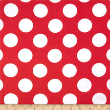 red and white polka dot background. Modren Background Charmeuse Satin Large Polka Dots RedWhite  Discount Designer Fabric  Fabriccom To Red And White Dot Background U