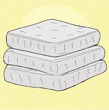 stack of mattresses. Cartoon Mattresses Vector Art Illustration Stack Of Mattresses Y