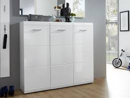 shoe cabinet furniture. Germania Adana 3 Door Shoe Cabinet In White High Gloss Thumbnail Furniture I