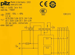 safety relay pnozcompact pilz in how do safety relays work at Pilz Safety Relay Wiring Diagram
