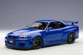 NISSAN SKYLINE GTR (R34) NISMO Z-TUNE (BAYSIDE BLUE) | Hobbyland