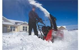 purchase a high quality snow thrower and clear a path on your lawn