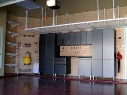 Floor To Ceiling Garage Cabinets Splendid Garage Closet Storage Systems Roselawnlutheran