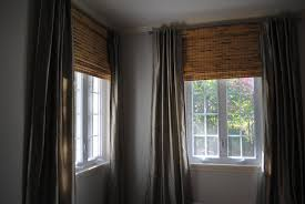 bamboo window shades and curtains