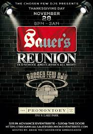 Ra 3rd Annual Sauers Reunion Thanksgiving Party At The