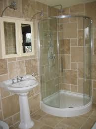 Small Bathroom Ideas With Corner Shower Only Okdesignclub Regarding