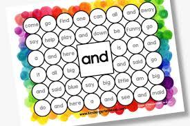 Free Printables For Kindergarten Sight Word Help 12 Ways