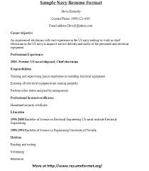 ... Sample Navy Resume Format | by Johnreese