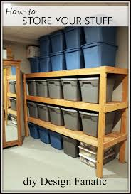 storage diydesignfanatic com storage shelves diy storage shelves basement storage