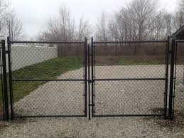 vinyl fence with metal gate. Black Vinyl Fence Gate With Metal