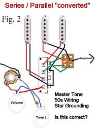 is my stratocaster series parallel switch wiring correct 2 photos