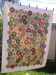 106 best Hexagon quilt images on Pinterest | Carpets, Desserts and ... & The Vignette Hexagon Quilt Adamdwight.com