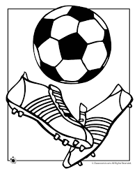 Small Picture Soccer Ball Coloring Page Woo Jr Kids Activities