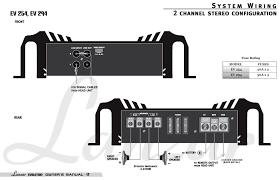 amazon com lanzar evolution ev254 1600 watt 2 channel smd class system wiring diagram