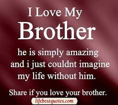Brotherly Love Quotes Beauteous I Love My Brother Quotes For Facebook Forget To Join With Our