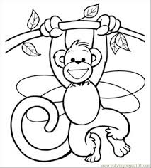 Monkey Printables Ss Fairy207 Mammals Monkey Free