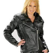 fame jacket mint womens harley davidson black leather