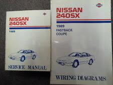 nissan 240sx repair manual 1989 nissan 240sx service repair shop manual set factory w wiring diagram oem
