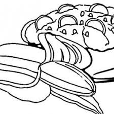 Small Picture Banana Split Coloring Page Bluebonkers Birthday Sweets And Treats