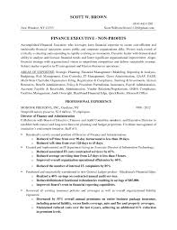 Executive Cover Letters Cover Letter Non Profit Valid Finance Executive Fundraising Proposal