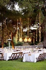 wedding lighting ideas reception. How Cool Does This String Lighting In Trees Look For Outdoor Reception? Photograph, Courtesy Of Pinterest. | White Dream Pinterest Wedding, Wedding Ideas Reception