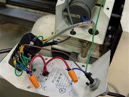 9x20 lathe spindle motor e stop the stop button interrupts the hot 110vac line in l1