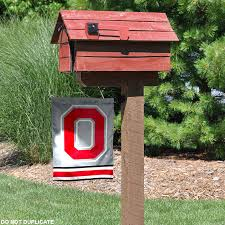 picture 2 of 3 picture 3 of 3 osu buckeyes garden flag