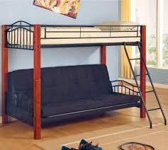 metal bunk bed futon. Coaster Haskell Twin Over Futon Bunk Bed - Item Number: 2249 Metal