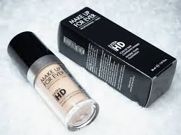 makeup forever ultra hd foundation review