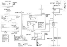 Chevy blazer wiring starter circuit intermittent starting diagram 2001 s10 and