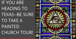 painted church tours in texas