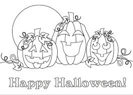 Free Halloween Coloring Pages Happy Coloring Page Free Halloween