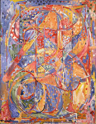 jasper johns 0 through 9 1961 oil and charcoal on canvas