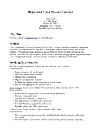 Resume Resume Format For Experienced Staff Nurse Wpazo Resume For